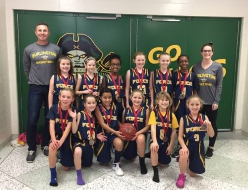 Force U10 Girls take Bronze in St. Catharines CYO Tournament