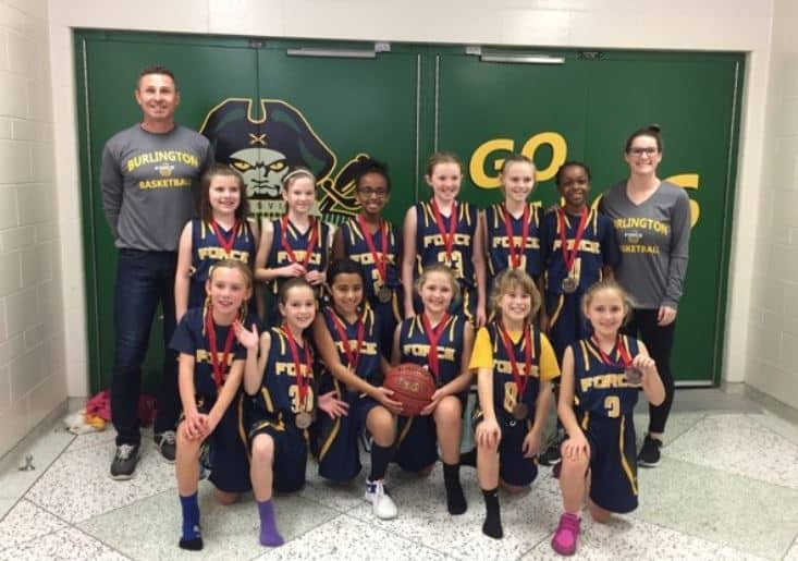 2017-12 Burlington Force Girls U10 St Catharines Bronze Medal