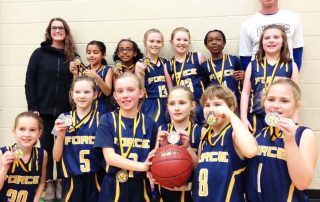 2018-02 Girls U10 Silver Blessed Sacrament Tournament-min