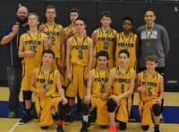 U14 Force Boys February Frenzy Tournament Gold Medal Winners