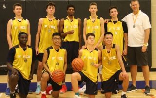 Burlington Basketball Boys U16 Elite Tournament Champs Mowder