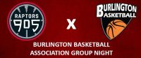 Raptors 905 Burlington Basketball Night