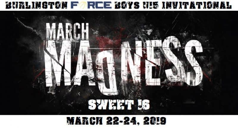 2018 U15 Burlington Force March Madness Tournament