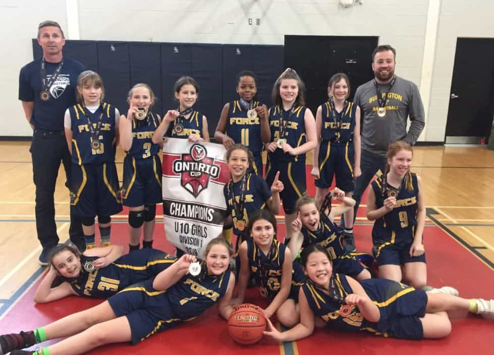 FORCE U10 Girls Win D1 Silver at the Blessed Sacrament