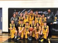 2019 U14 Boys Basketball Gold Div 10