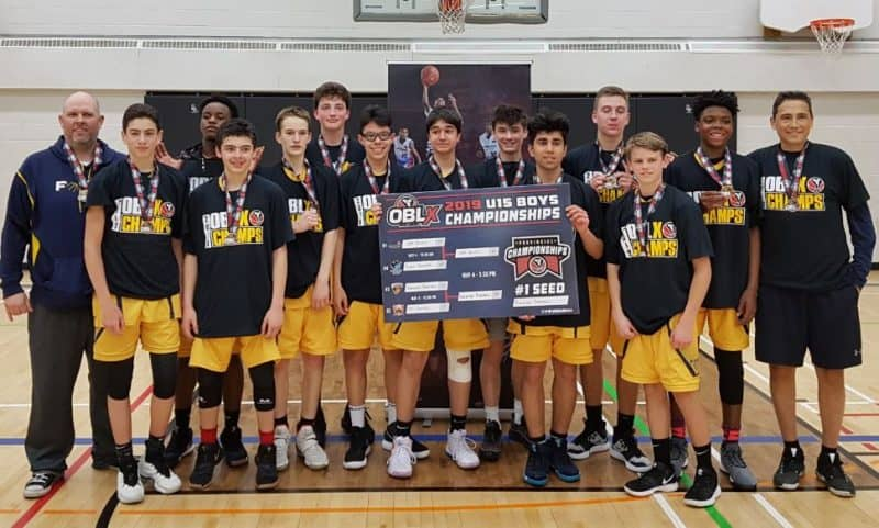 2019 Burlington FORCE U15 OBLX Champs