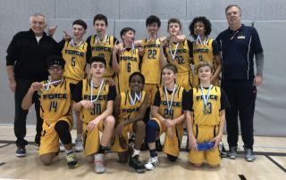 U14 Boys - 2002 Boys Basketball Tournament Champs