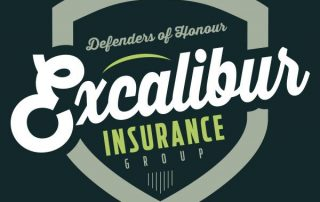 Burlington Basketball Sponsor Excalibur Insurance