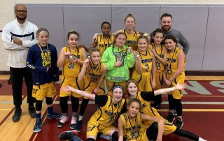 U11 Girls Force Win Blessed Sacrament