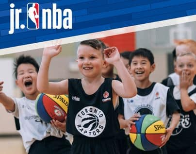 Jr NBA basketball Burlington for boys and girls