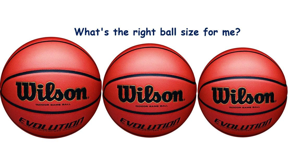 What is the right basketball size by age
